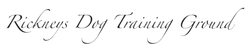 Rickneys dog training ground logo